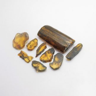 Resina fosilizada de origen vegetal, originaria del estado de Chiapas, México. $15 pesos el gramo. Pregunte por nuestro precio de mayoreo.